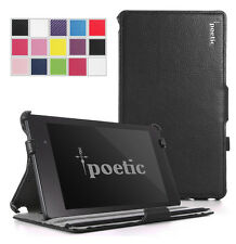 Google Nexus 7 Inch - 2nd Gen 2013 Model-Poetic  StrapBack Cover Case - Black