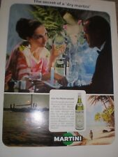 The Secret of a Dry Martini advert 1964 ref AY