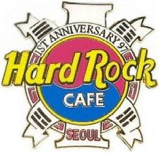 Hard Rock Cafe SEOUL 1997 1st Anniversary PIN Yin Yang HRC Logo PIN #8606 RARE!