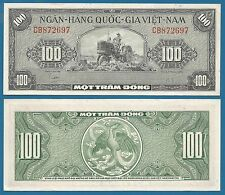 South Vietnam 100 Dong P 8 a ND (1955) UNC Viet Nam Low Shipping Combine FREE 8a