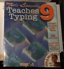 MAVIS BEACON TEACHES TYPING 9 MACINTOSH CD ROM MAC VINTAGE 1994 NEW RARE LAST