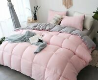 Queen comforter set Cozy Soft Luxury Down Alternative Bedding Set - Reversible