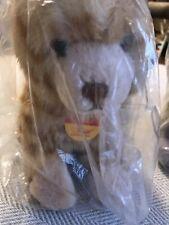 "STEIFF Minka Katze Ginger/Yellow Tiger Cat Plush 7.25"" EAN 099526 Original Tags"