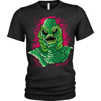 Black Lagoon T-Shirt Evil Creature monster swamp Unisex Mens