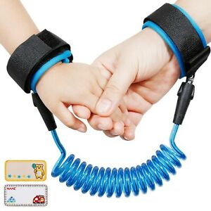 Lictin Anti-Lost Wrist Flexible Child Walking Strap Adjustable Child Safety S...