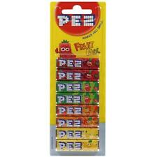 PEZ sweets Refill Pack for PEZ dispenser (1 x 8 pack)