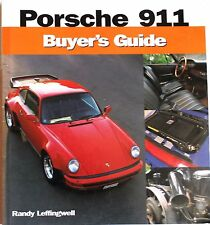 Porsche 911 Buyer's Guide by Randy Leffingwell - 2002