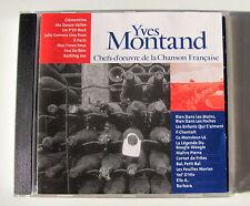YVES MONTAND . Chefs-D'Oeuvre De La Chanson Française  . CD CF017