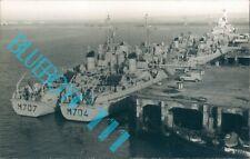 French Minesweepers Eridan Aldebaran ,Vega & Algol Portsmouth October 1965