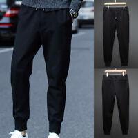 Men's Fashion Korean Casual Slim Fit Skinny Harem Trousers Summer Sport Pants