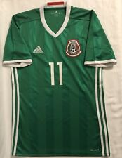 Adidas Mexico National Team Soccer Jersey C. Vela. Adult Size Small.
