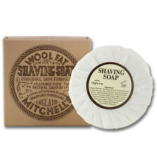 Mitchells Wool Fat Lanolin Shaving Soap for Sensitive Skin Refill (125g)