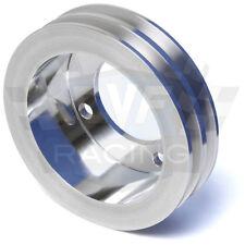 Ford Crankshaft Pulley 289 302 351W 2V Crank SBF Polished Billet Aluminum