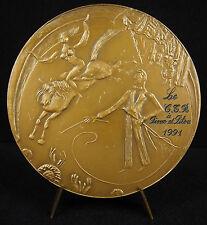 Medaglia circo circo di Fimo e Pitou 1991 addestramento clown accrobate Medal