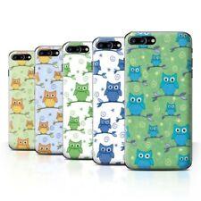 Owl Rigid Plastic Cases & Covers for iPhone 7 Plus