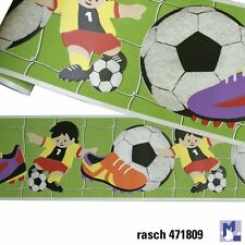 Bordure Rasch 471809 Football Enfants football 5 m bordure
