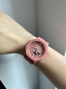 New Casio G-Shock GMA-S2100-4A2 Pink Casioak IN HAND USA SELLER