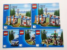 4440 LEGO City Forest Police Station 100% complete with instructions cops robber