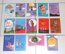 14 cartoline CANTA E CAMMINA Monache Agostiniane Rogate Gesù Cristo Postcards