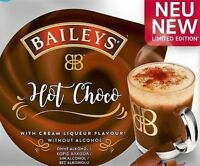 NEW! 4 x Tassimo Baileys Hot Choco Chocolate T Discs Pods Sold Loose - 4 Drinks