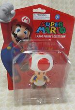"""2012 Nintendo Super Mario Bros 5"""" Toad Action Figure Toy"""