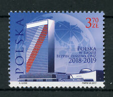 Poland 2017 MNH Poland in UN Security Council 1v Set Architecture Stamps