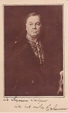 PORTRAIT SIGNED by newspaper mogul HAROLD HARMSWORTH -  1ST VISCOUNT ROTHERMERE