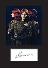 FLORENCE AND THE MACHINE #2 A5 Signed Mounted Photo Print - FREE DELIVERY