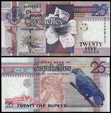 SEYCHELLES 25 RUPEES (P37a) N. D. (1998) UNC