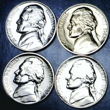 1961 1962 1963 & 1964 SUPERB GEM PROOF Jefferson Nickel 4 Coin PQ PRF LOT    NR