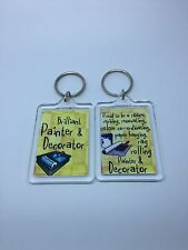 Brilliant Painter and Decorator Keyring - Xmas Gift Present Idea