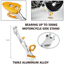CNC Aluminum Alloy Adjustable Kickstand Foot Side Stand for Universal Motorcycle