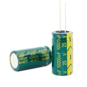 25V 10000uF Radial Aluminium Electrolytic Capacitors 10000uF 25V 105°C 18x35mm