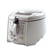 Delonghi Rotofry F28311 Deep Fryer White 1800W Easy Clean System