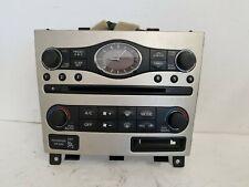 07 08 09 Infiniti G35 Radio Control Panel Center Dash Audio Silver 25391 JK610