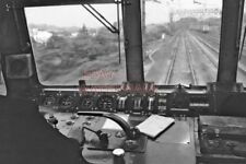 PHOTO  VIEW FROM THE CAB OF THE ROYAL SCOT 1971 1
