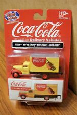 CLASSIC METAL WORKS 30509 '41-'46 CHEVY BOX TRUCK COCA-COLA HO SCALE 1/87