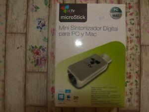 MINI SINTONIZZATORE DIGITALE PC MAC PCTV MICROSTICK