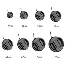 1pcs Center Pinch Snap on Front Lens Cap Cover for DSLR Camera Lens 49mm-77mm