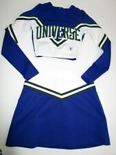 "UNIVERSE Cheerleader Uniform Outfit Costume Size Child Small 24"" Top 22-24 Skirt"