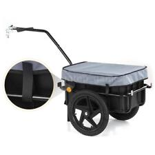Bicycle Bike Cargo Trailer Steel Carrier Storage Cart Luggage For Shopping C2H8
