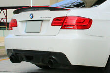 BMW E92 Coupe 2D CARBON FIBER Red Line P STYLE REAR BOOT SPOILER WING UK SELLER
