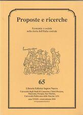 Storia Locale Economia e società nella storia dell'Italia centrale n. 65