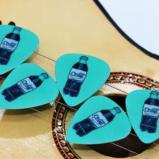 10pcs 0.71mm Musical DIY EarRings Smaller COCA COLA Guitar Picks Mix Plectrums