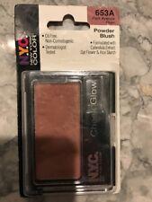 Nyc New York Color Cheek Glow Powder Blush Park Avenue Plum 653A