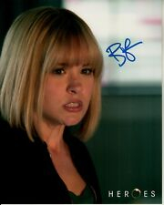 BREA GRANT hand-signed HEROES 8x10 w/ uacc rd coa DAPHNE COLOR CLOSEUP authentic
