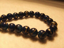 Blue Round 8 - 8.9 mm Size Jewellery Making Beads