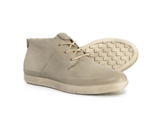 NEW ECCO DAMARA LEATHER CHUKKA BOOTS ANKLE BOOTS WOMENS 41 10-10.5