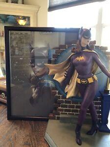 Tweeterhead 1966 Batgirl maquette exclusive edition With Bonus Art
