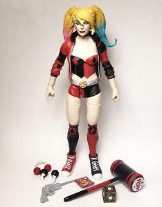 "Mattel DC Multiverse 6"" Rebirth Harley Quinn Lex Luthor Wave Figure Loose"